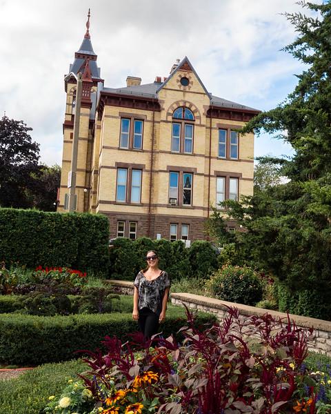 Shakespearean Gardens in Stratford Ontario