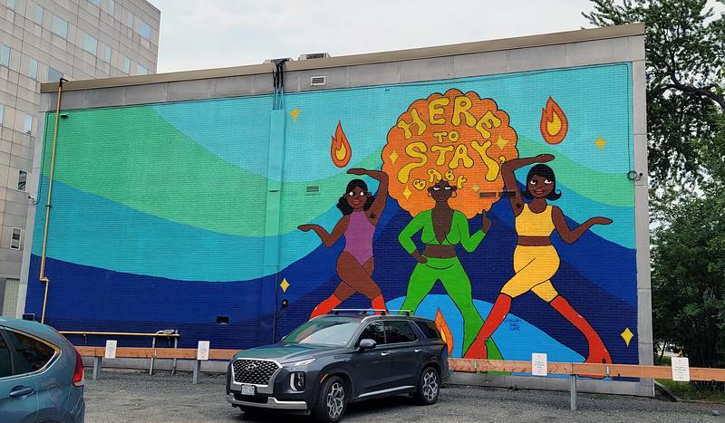 Sudbury street art - Murals in Sudbury - Up Here Festival