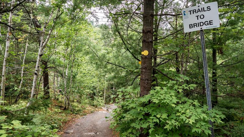 Onaping Falls Trail