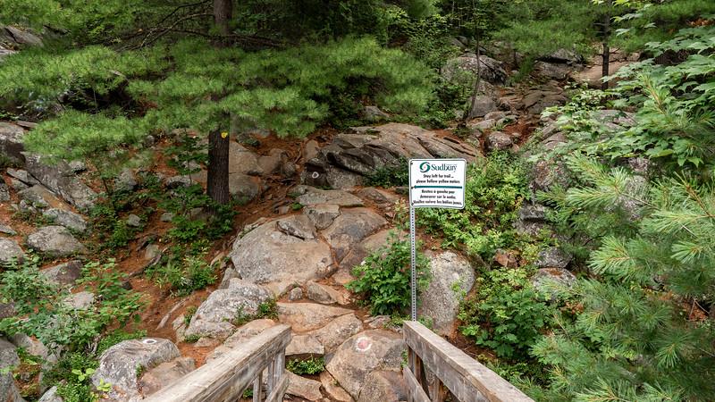 Onaping Falls Loop Trail