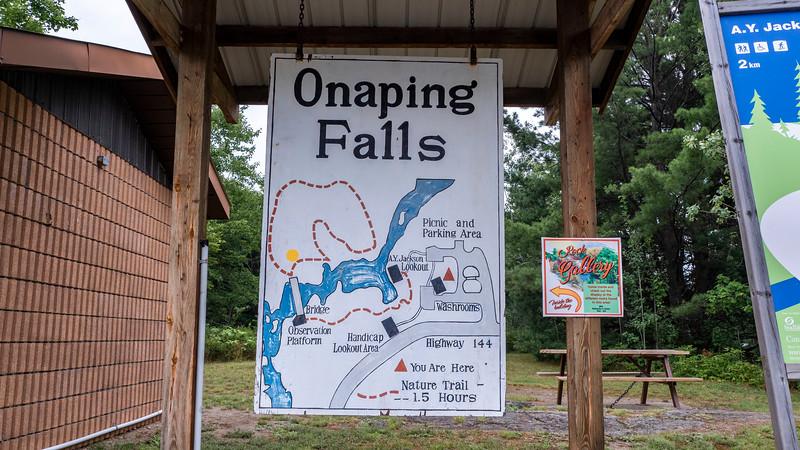 Onaping Falls Map