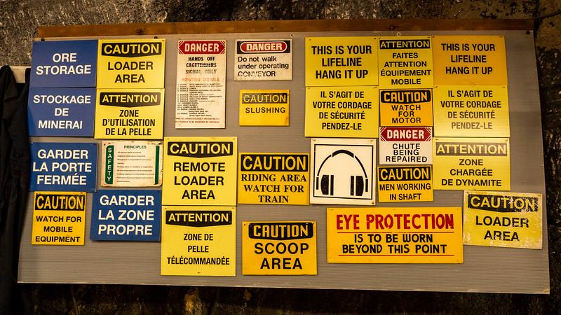 Dynamic Earth underground mine tour