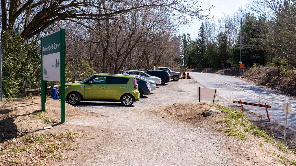 Parking at Thornton Bales Conservation Area