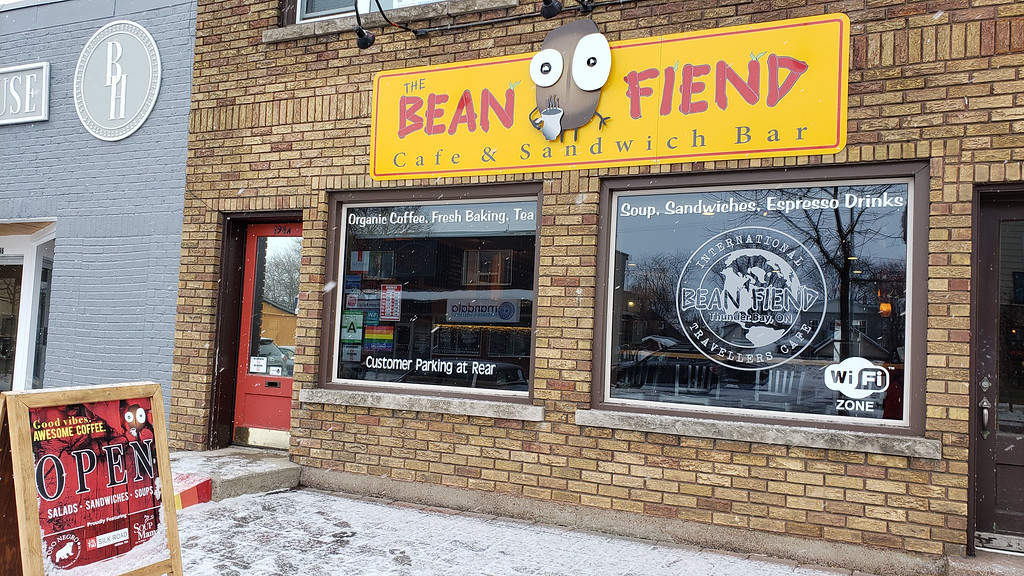 Bean Fiend Coffee in Thunder Bay ON