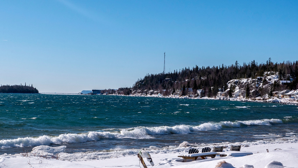 Silver Islet at Sleeping Giant Provincial Park in Thunder Bay Ontario