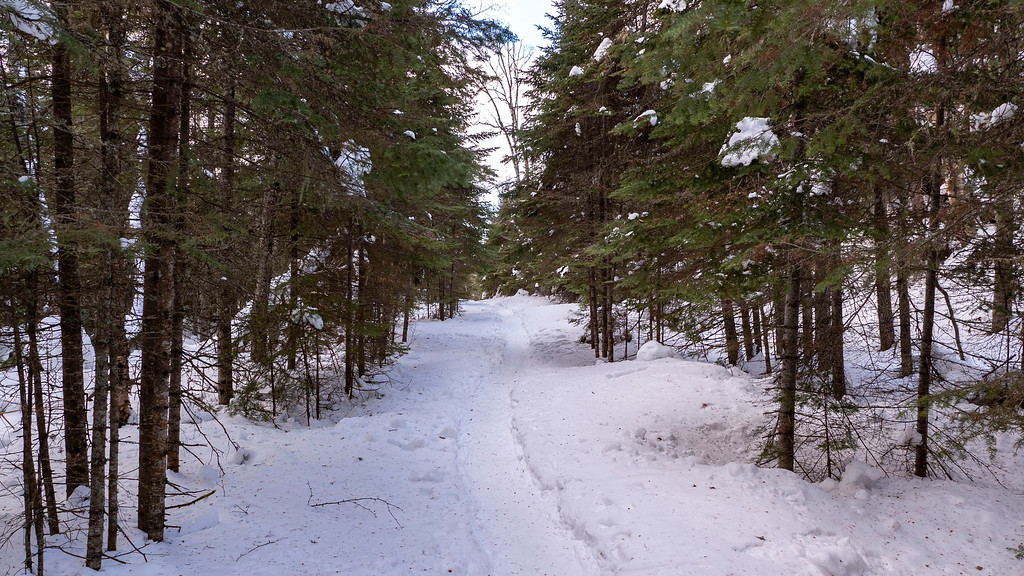 Kabeyun Trail in winter