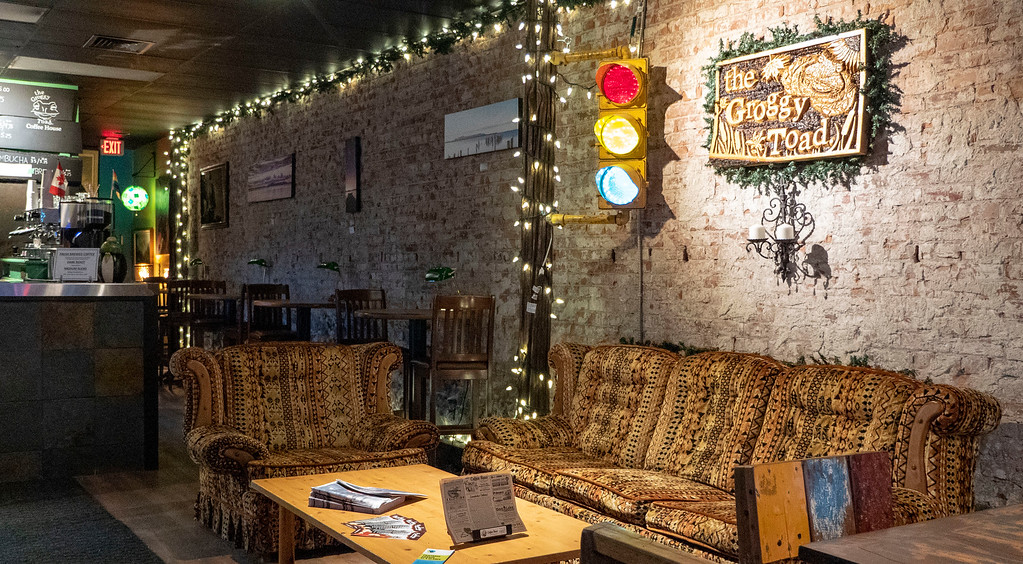 Groggy Toad Coffee Shop - Vegan friendly cafe in Thunder Bay