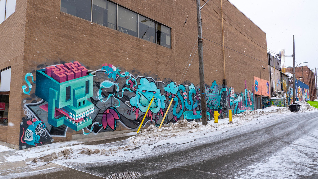 Street art and murals in Thunder Bay
