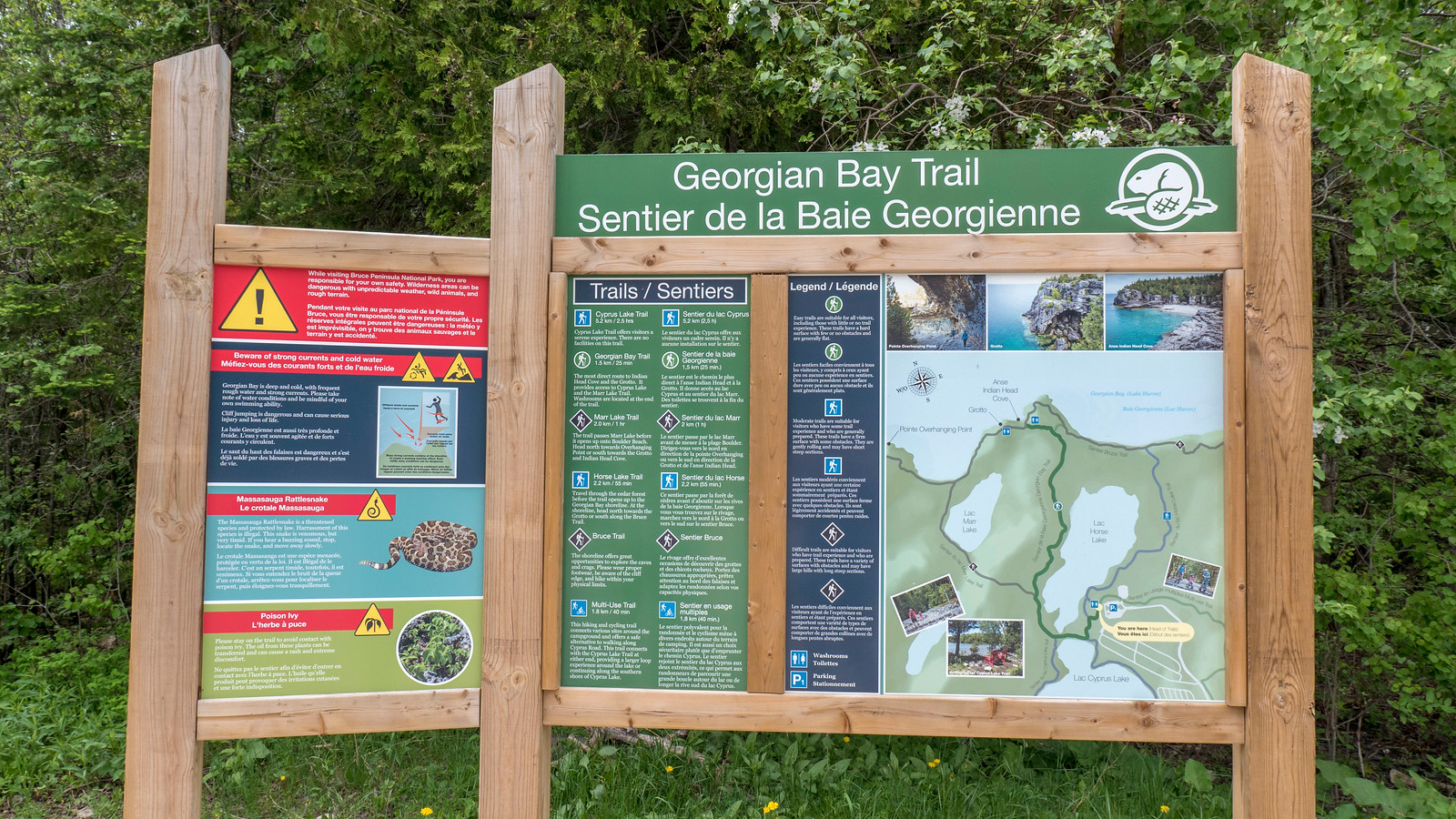 Georgian Bay Trail, Bruce Peninsula National Park. Best Bruce Peninsula Hiking Trails for Nature Lovers.