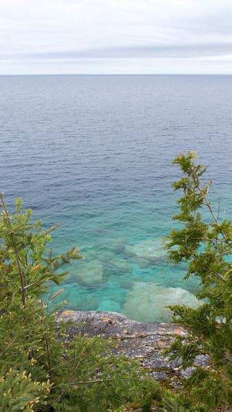 Coastline at Flowerpot Island