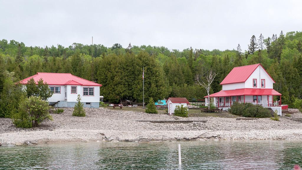 Flowerpot Island Lightkeeper's Cottages