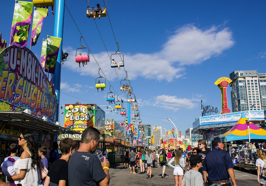 Sky Ride at the CNE in Toronto