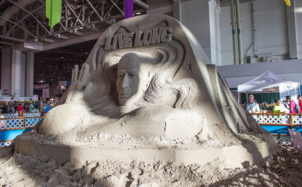 Sand sculpture at the CNE in Toronto