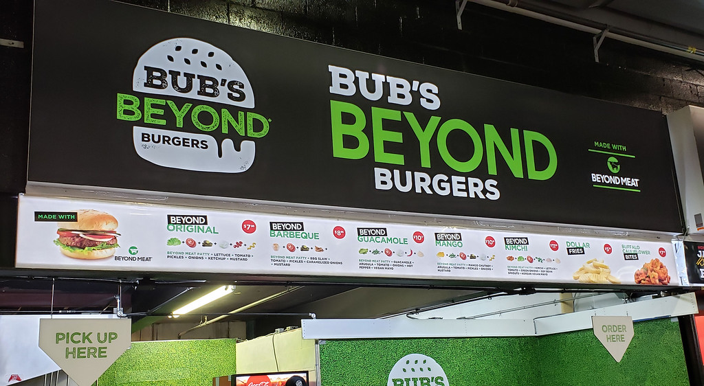 Bub's Beyond Burgers with Beyond Meat at the CNE Toronto