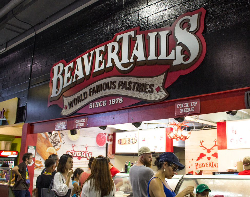 Beavertails at the CNE
