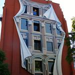 Fake Building Facade Street Art – Toronto, Ontario – Photo