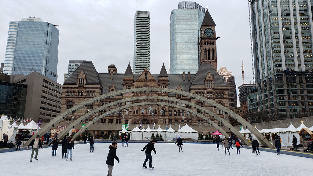 Holiday Fair in the Square - Toronto Ontario
