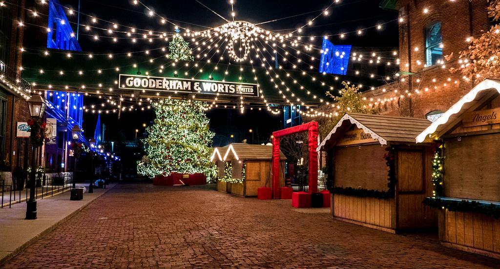Distillery District Toronto Christmas Market
