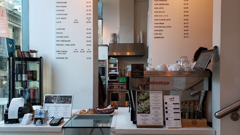 Versus Coffee - Best coffee shops in Toronto