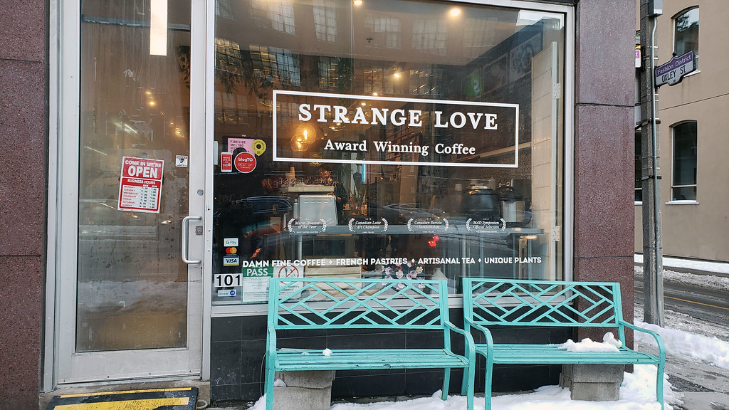 Strange Love Coffee Toronto