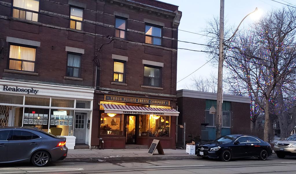 Tango Palace Coffee Company  Toronto