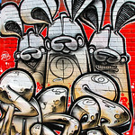 Bunny Street Art – Toronto, Canada – Daily Photo