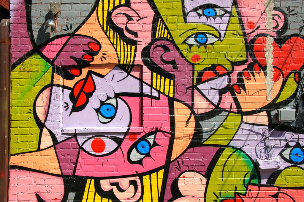 Street Art Picasso - Toronto, Ontario - Photo