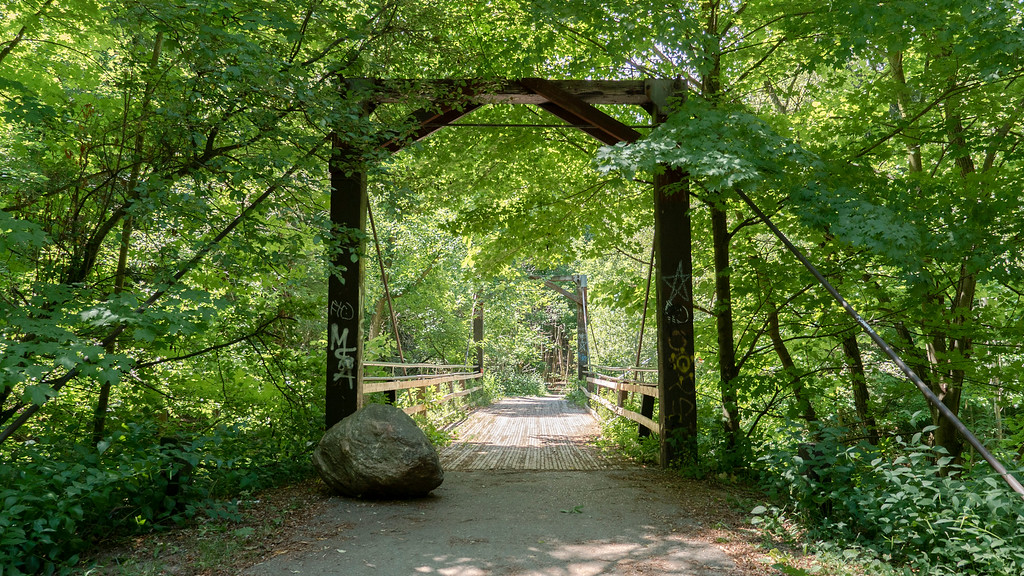 Warden Woods and the Gus Harris Trail in Scarborough Ontario (Toronto)