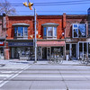 Street in Roncesvalles Village in the city of Toronto, Ontario, Canada.