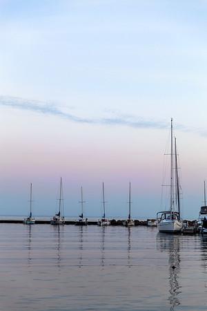 Boats at Toronto's Waterfront