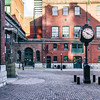 The Distillery District, a pedestrian-only neighbourhood  of Toronto is a historic site that was once the former home of the Gooderham and Worts Limited Distillery.