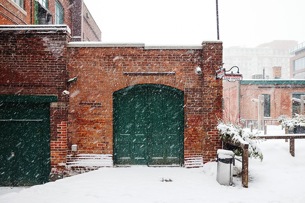Winter in Toronto's Distillery District