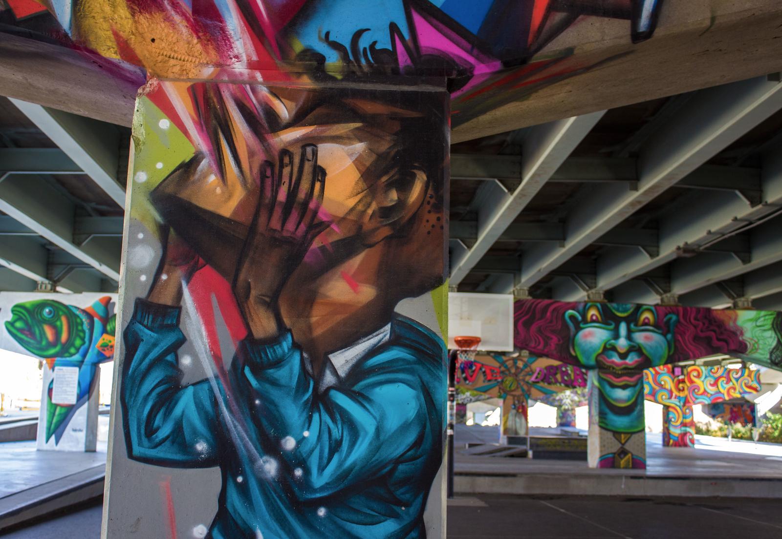 Underpass Park Toronto Street Art