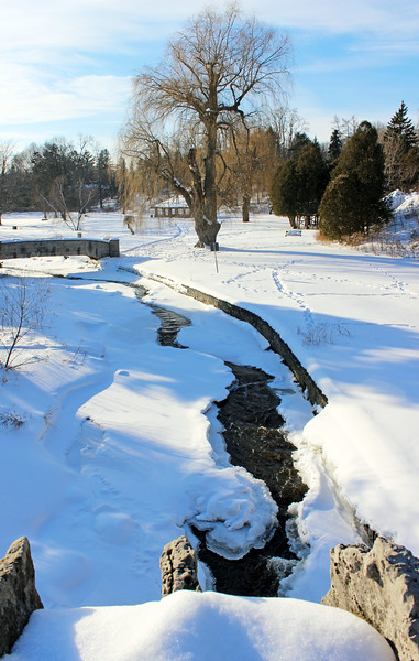 Spencer Creek in the winter