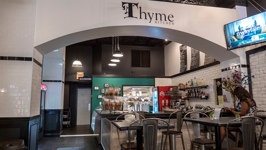 Vegan restaurants in Windsor Ontario: Thyme Kitchen