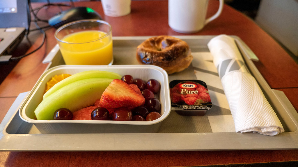 VIA Rail Canada Train Business Class Experience