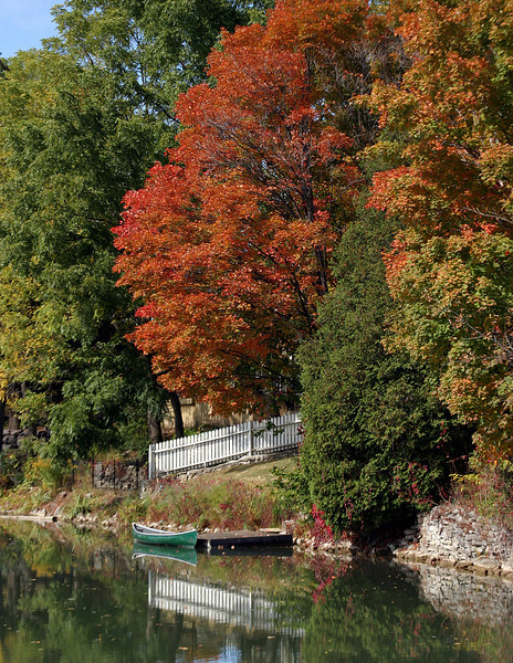 Autumn in Cottage  Country - Ontario