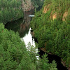 A view of Barron Canyon, Algonqin Park, Ontario Canada