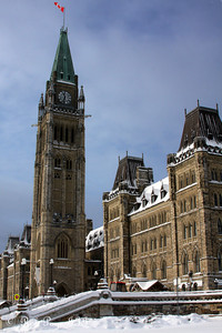 Parliament - Ottawa, ON ... January 2, 2010 ... Photo by Rob Page III