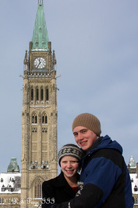 Rob and Emily enjoying the cold weather - Ottawa, ON ... January 2, 2010 ... Photo by Heather Fairley