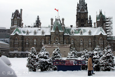 The western block of Parliament - Ottawa, ON ... January 2, 2010 ... Photo by Rob Page III