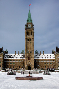 The Peace Tower - Ottawa, ON ... January 2, 2010 ... Photo by Rob Page III