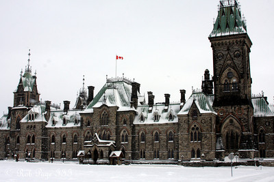 The East Block - Ottawa, ON ... January 2, 2010 ... Photo by Rob Page III