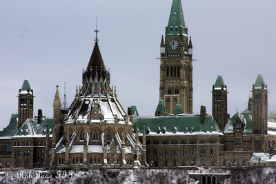 Parliament - Gatineau, QC ... January 2, 2010 ... Photo by Rob Page III