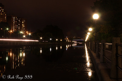 The canal - Ottawa, ON ... September 26, 2009 .. Photo by Rob Page III