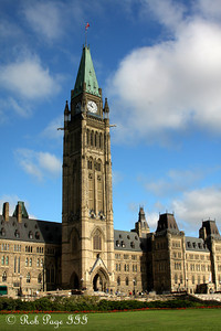 The Peace Tower - Ottawa, ON ... September 25, 2009 ... Photo by Rob Page III