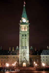 The Peace Tower in Parliament - Ottawa, ON ... September 26, 2009 .. Photo by Rob Page III