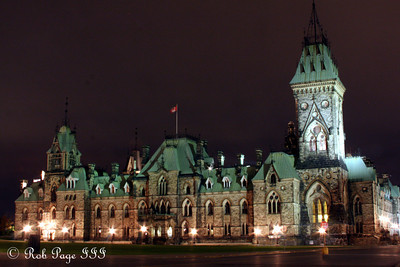 The East Block at Parliament - Ottawa, ON ... September 26, 2009 .. Photo by Rob Page III