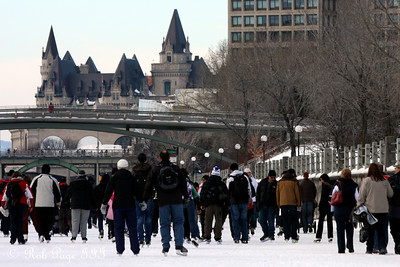 On the Rideau Canal - Ottawa, ON ... February 5, 2011 ... Photo by Rob Page III