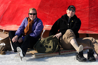 Heather and John on the Rideau Canal - Ottawa, ON ... February 5, 2011 ... Photo by Rob Page III